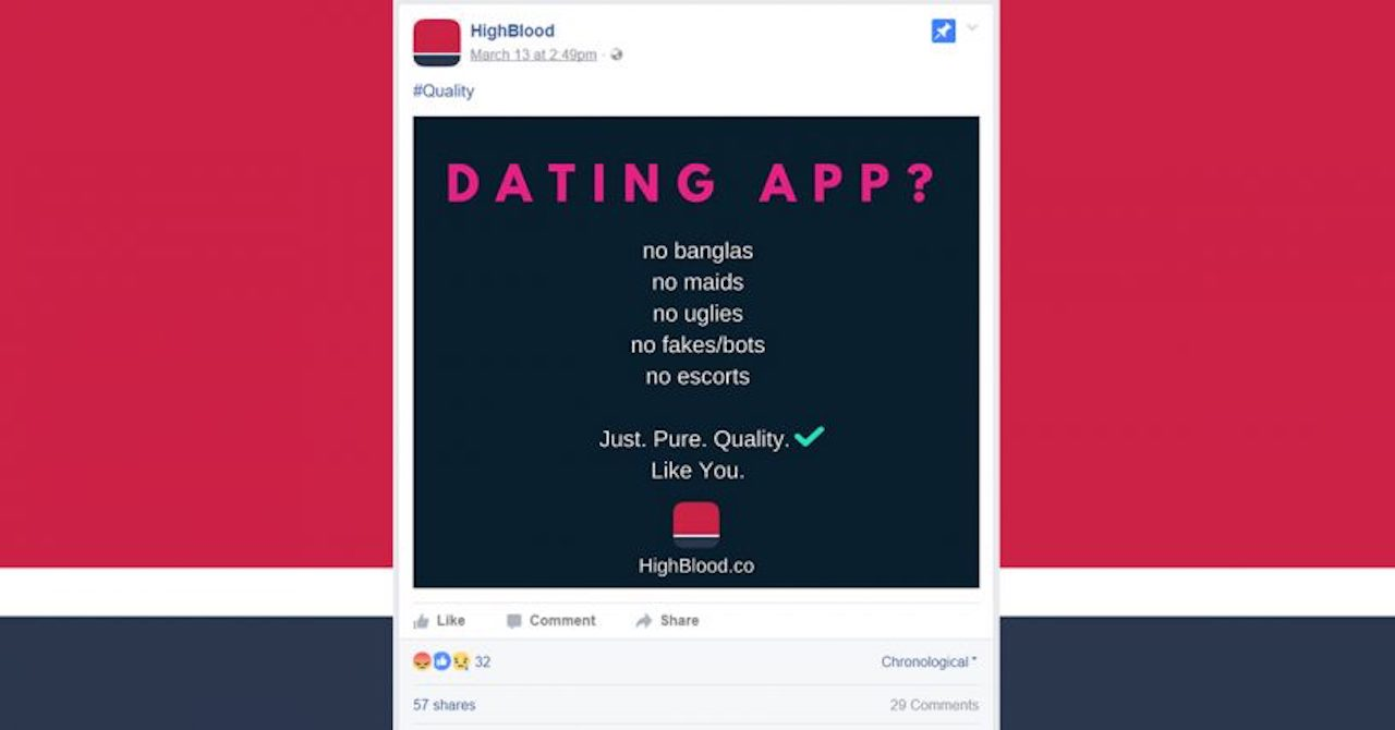 Does this Racist Dating App Reflect Who We Really Are?
