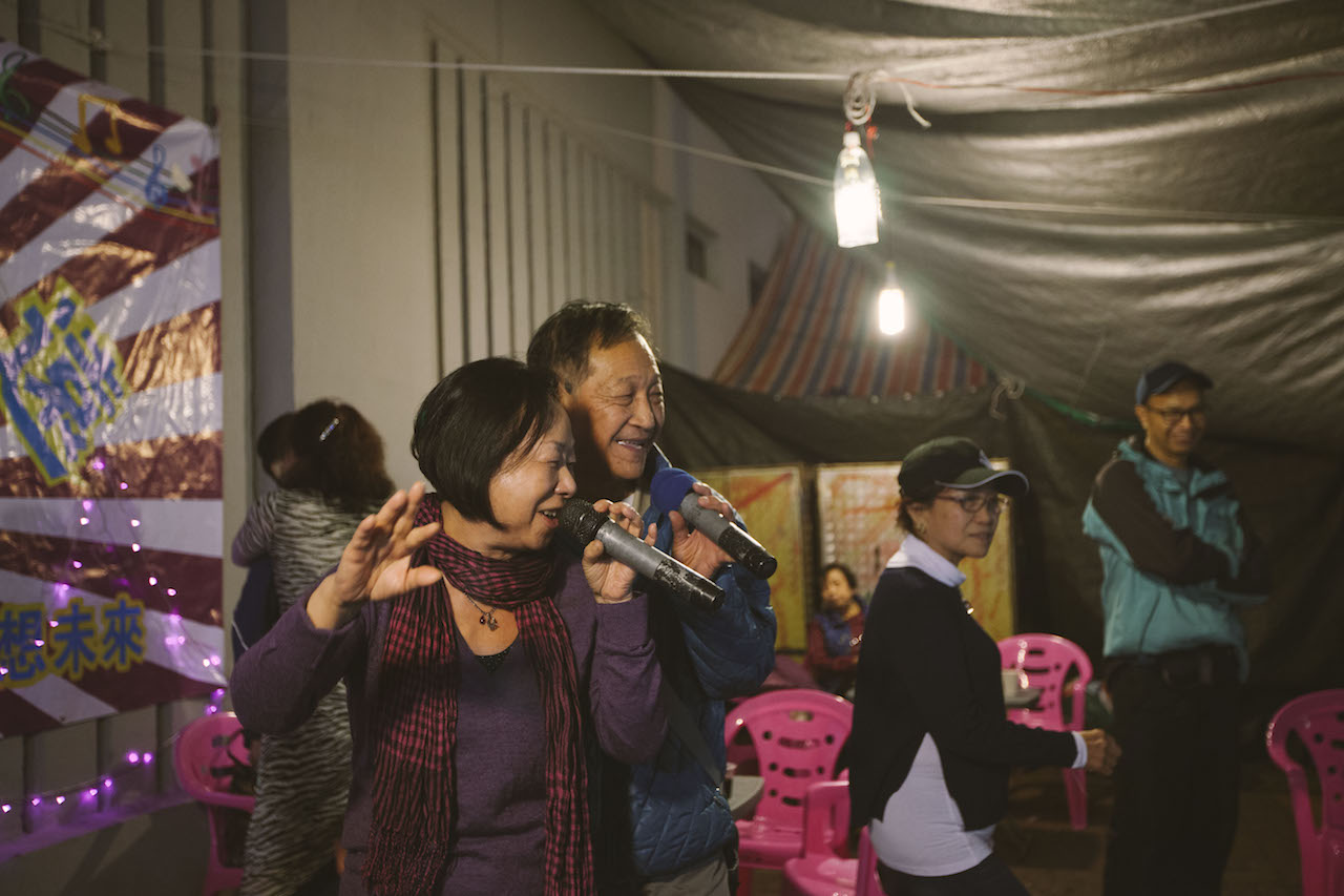 Karaoke Row: A Refuge From Loneliness in the City of Glass