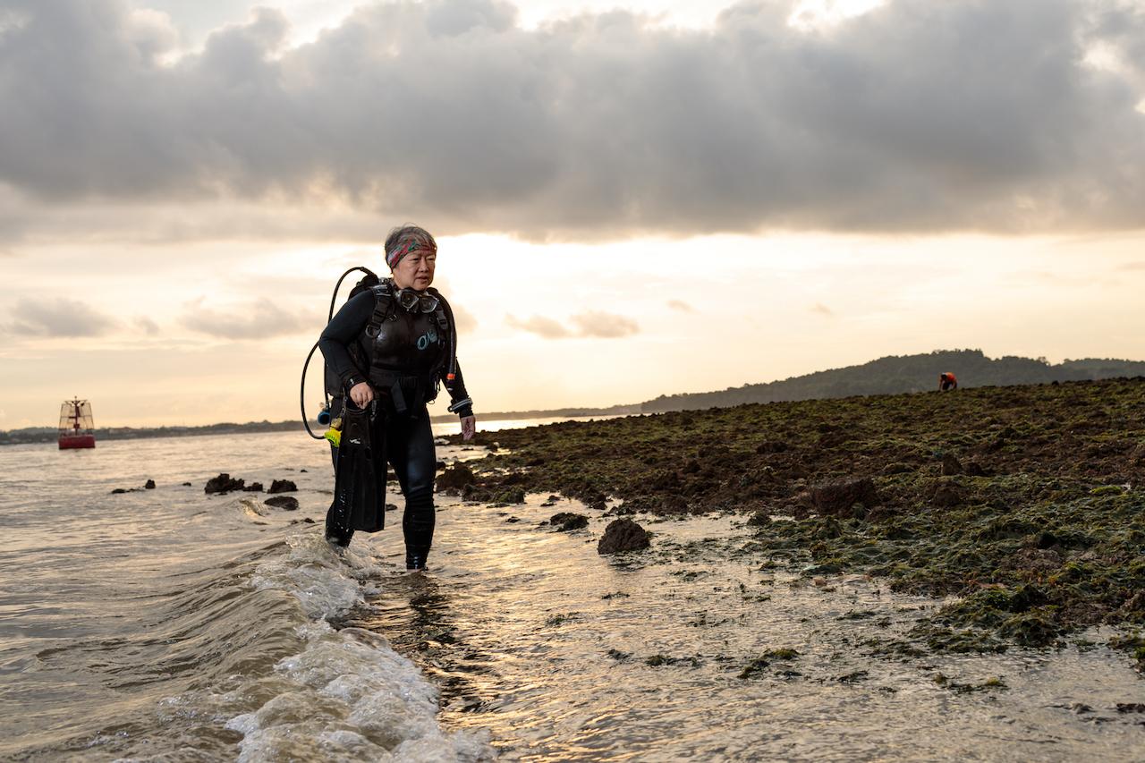 Meet Judith, A 63 Year-Old Master Scuba Diver
