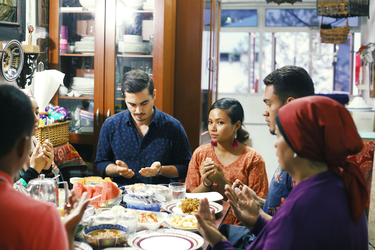 Breaking Fast with a Frenchman and His Family