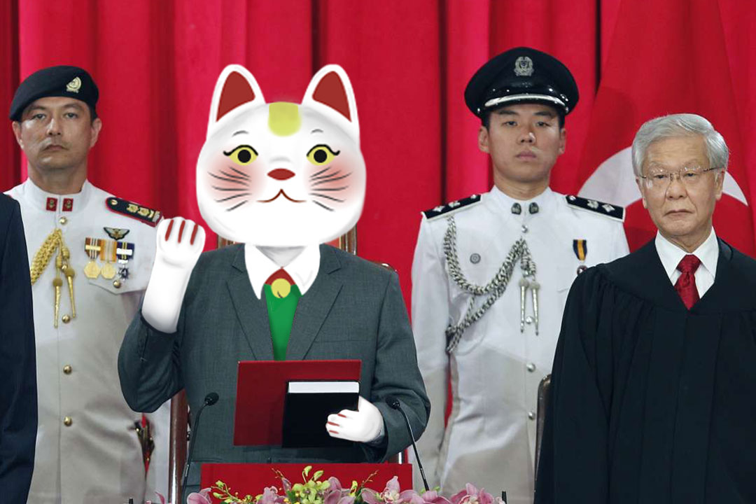 Singapore Should Elect a Fortune Cat for President