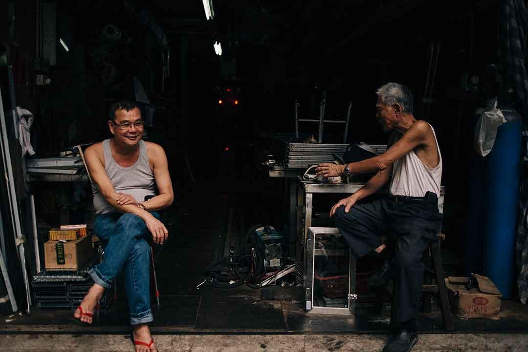 The People of Tai Kok Tsui: Here Today, Gone Tomorrow?