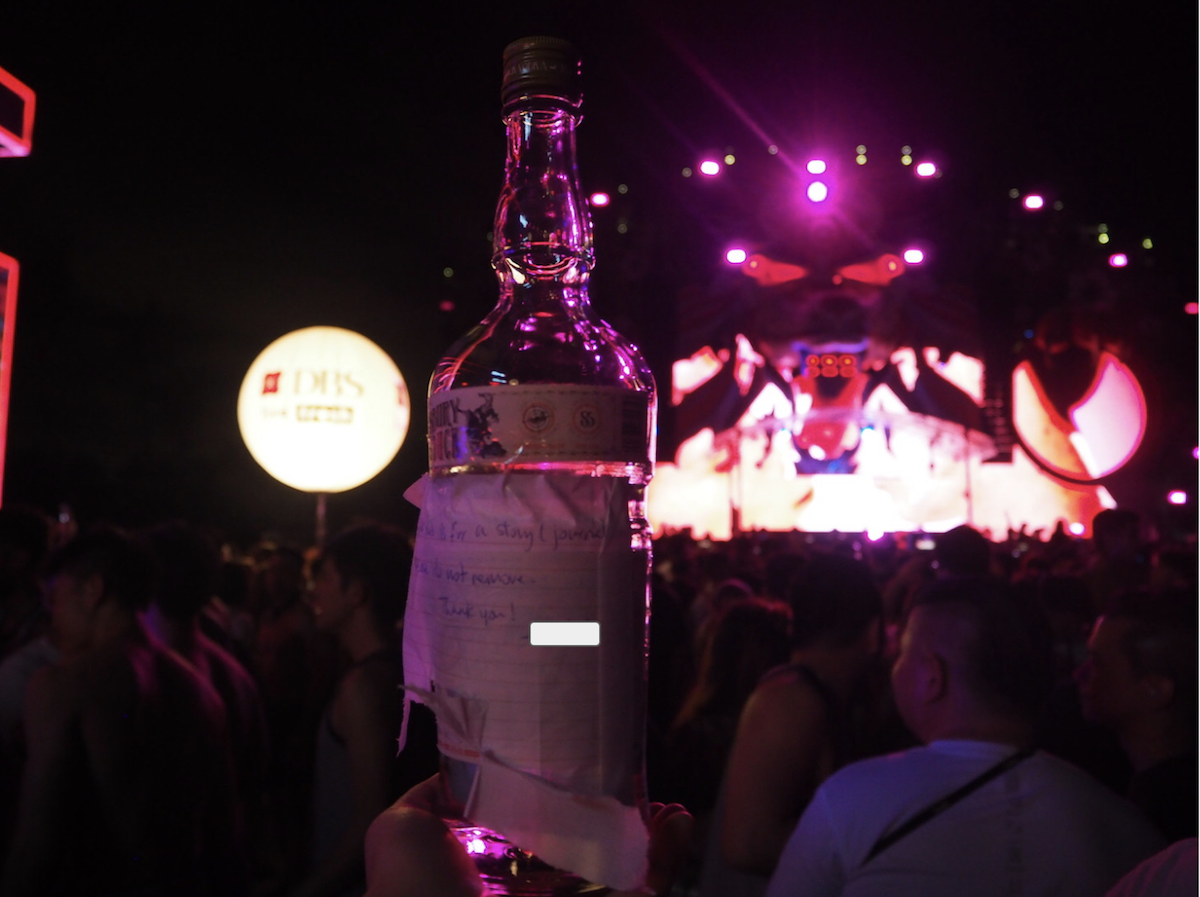How To Sneak Alcohol Into Zoukout