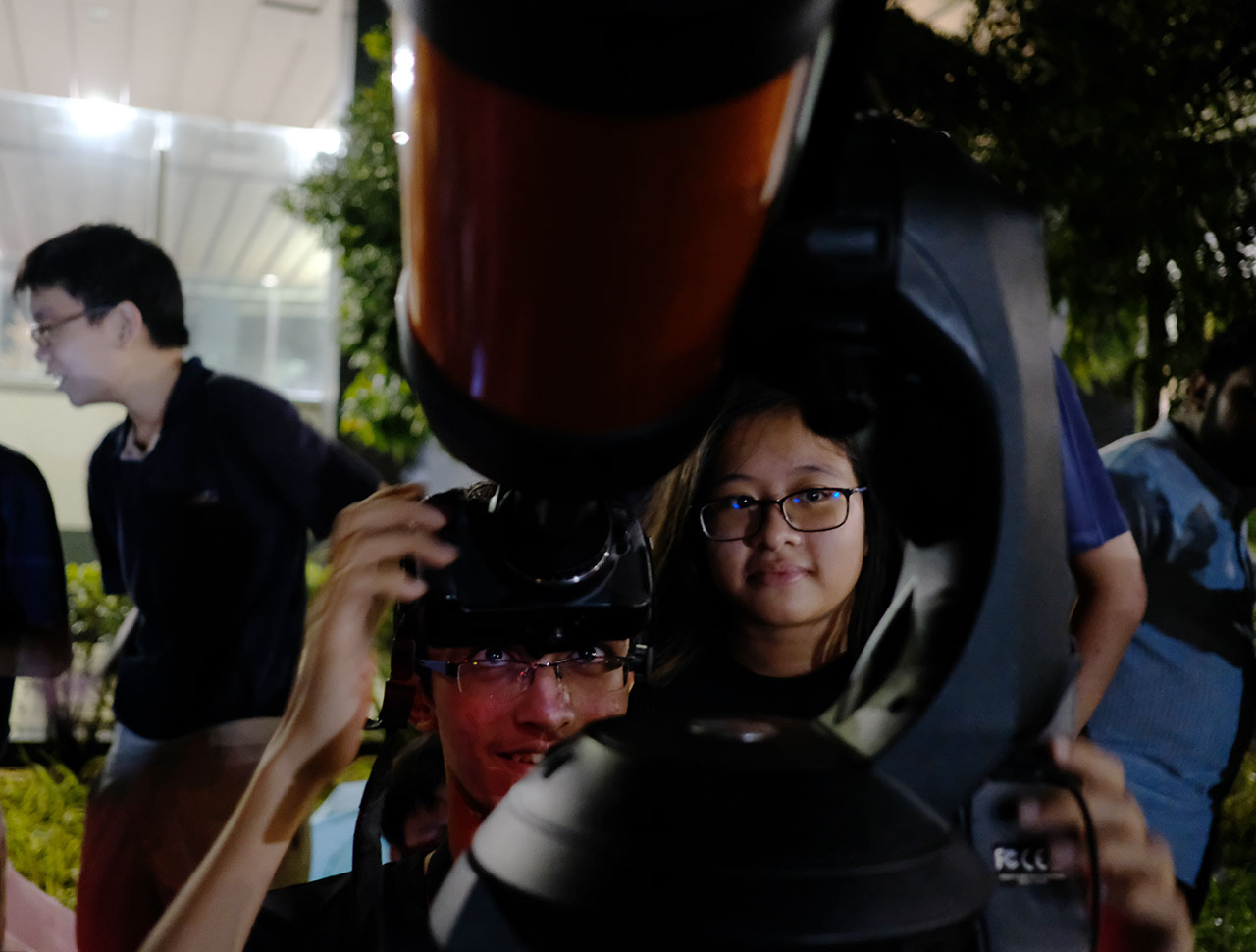 Last Night, the Lunar Eclipse Brought Out the Geek in All of Us