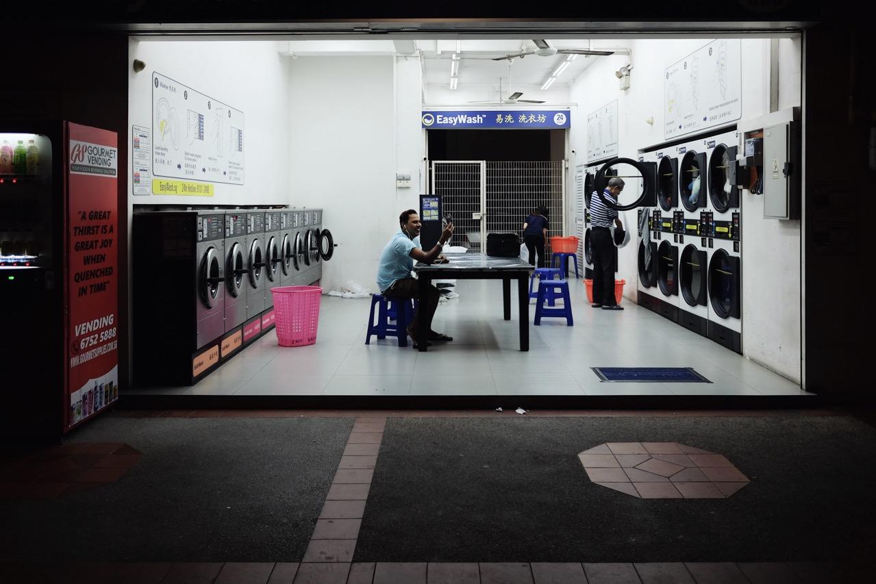 The Secret Beauty of Singapore's 24-Hour Laundromats