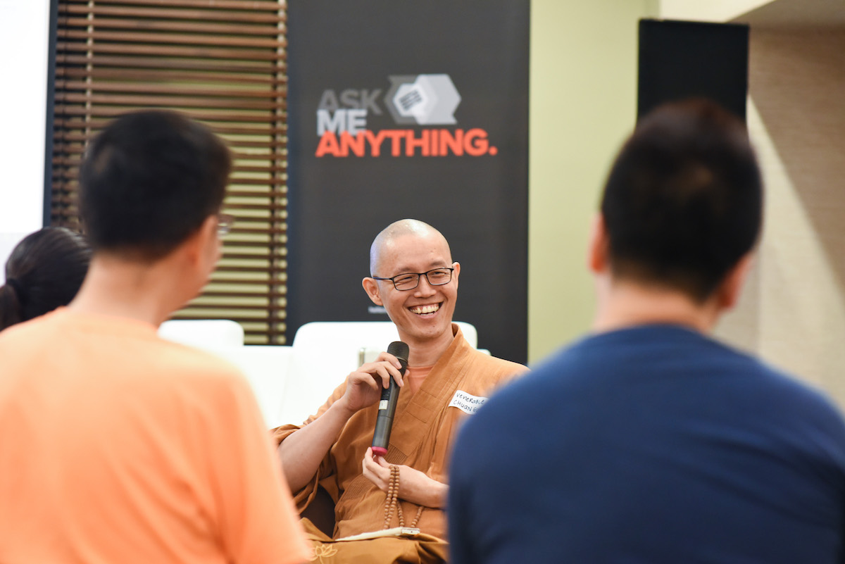 Asking Unfiltered Questions at a Real-Life Buddhist AMA