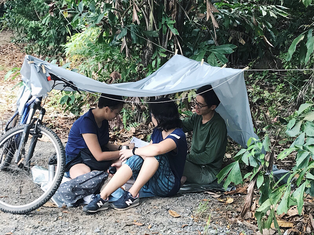 Singaporeans Attempt to Live Like Refugees. What Could Possibly Go Wrong?