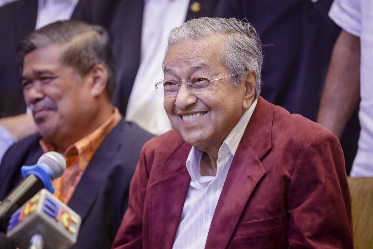 Dr. Mahathir's Victory Changes Everything. Just Not For Singapore.