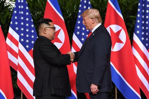 Trump Surprised To Find That Kim Has Warm Hands