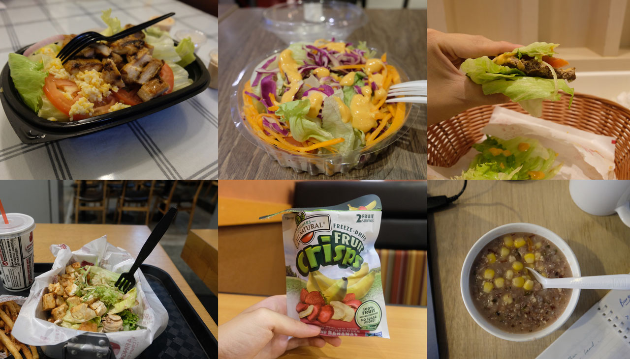 I Tried Eating Healthy At Singapore's Fast Food Restaurants
