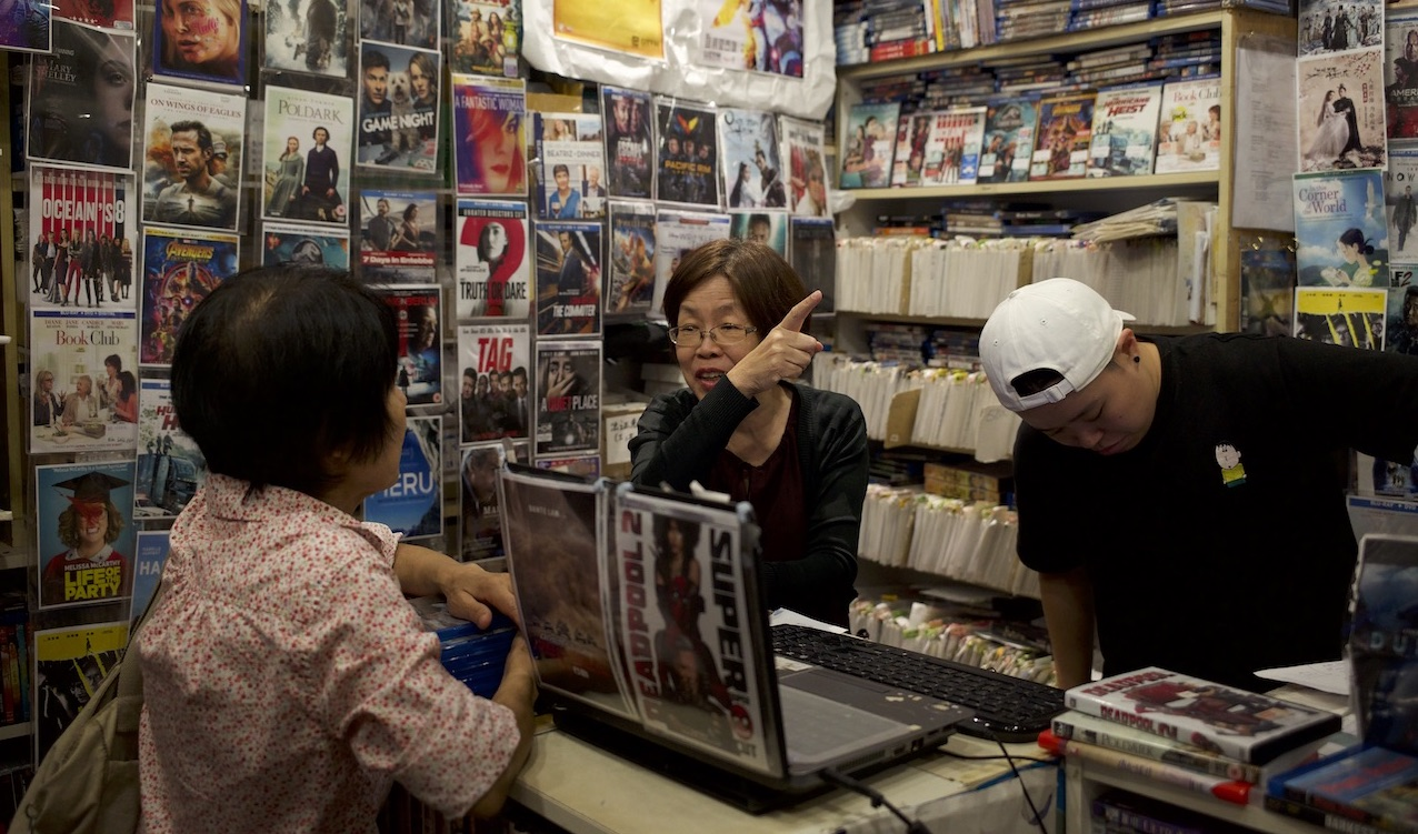 Inside One of the Last Video Rental Stores in Singapore
