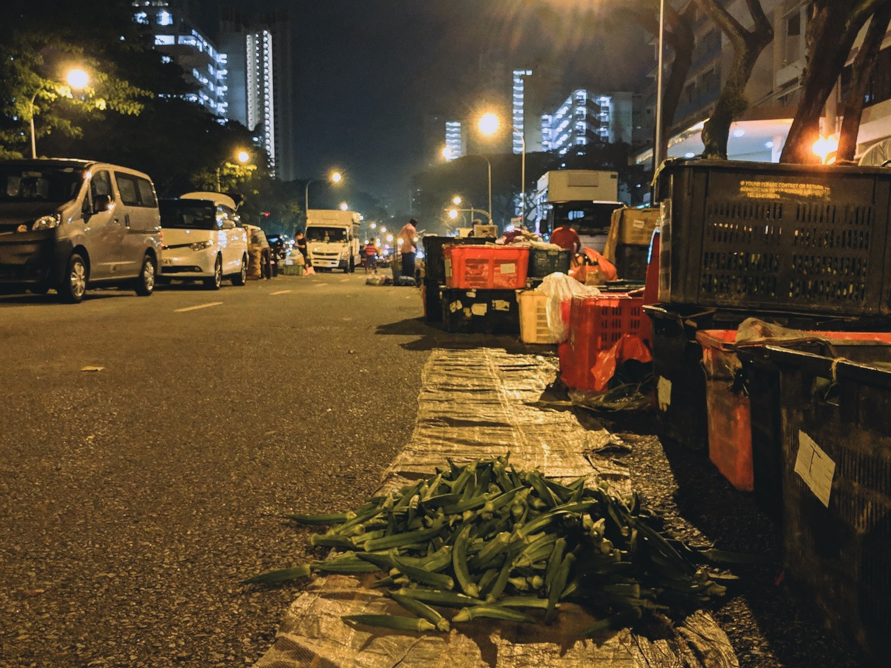 While Singapore Sleeps: Midnight At Toa Payoh East Vegetable Market