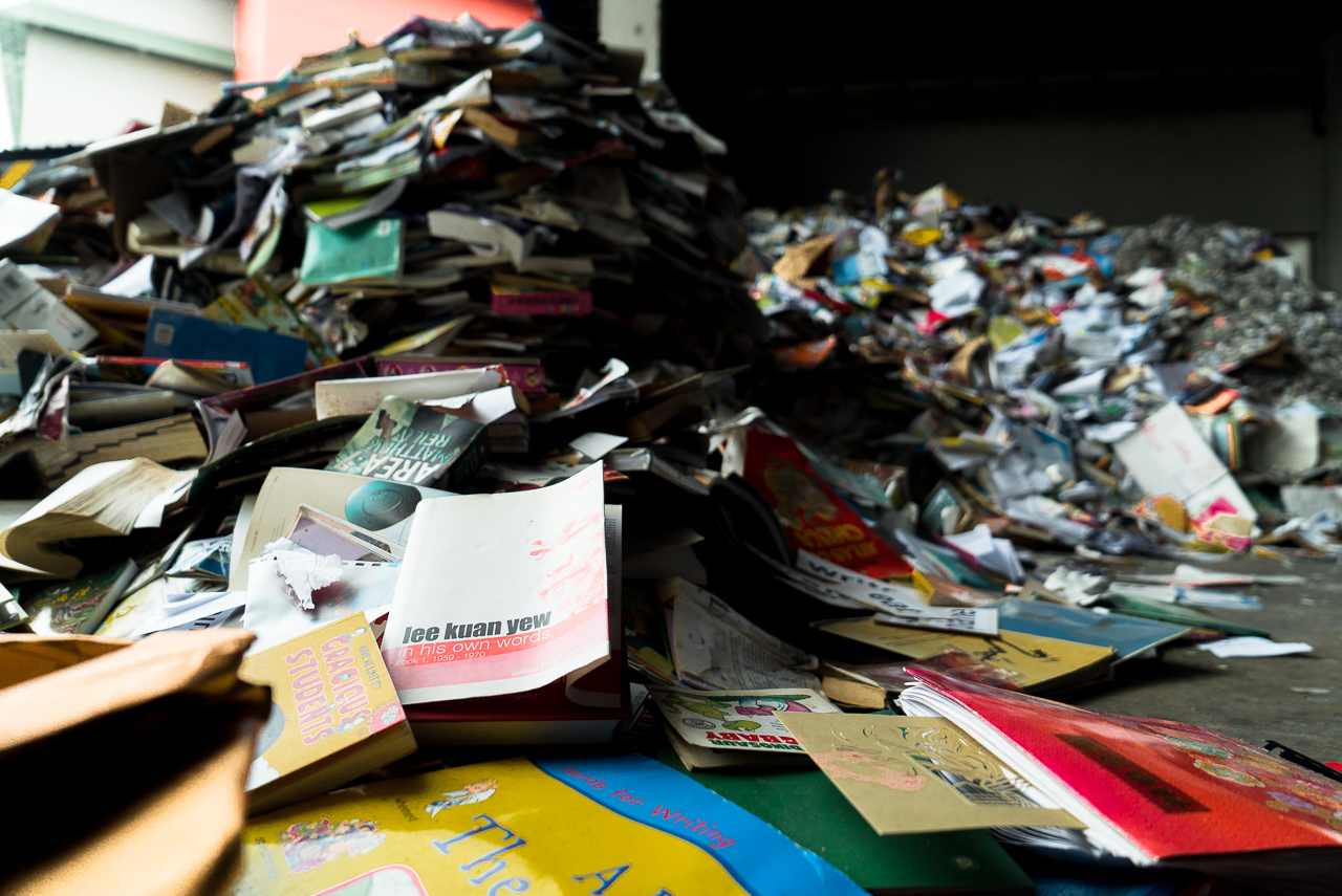 From Trash to Treasure: The Life Journey Of a Piece of Paper