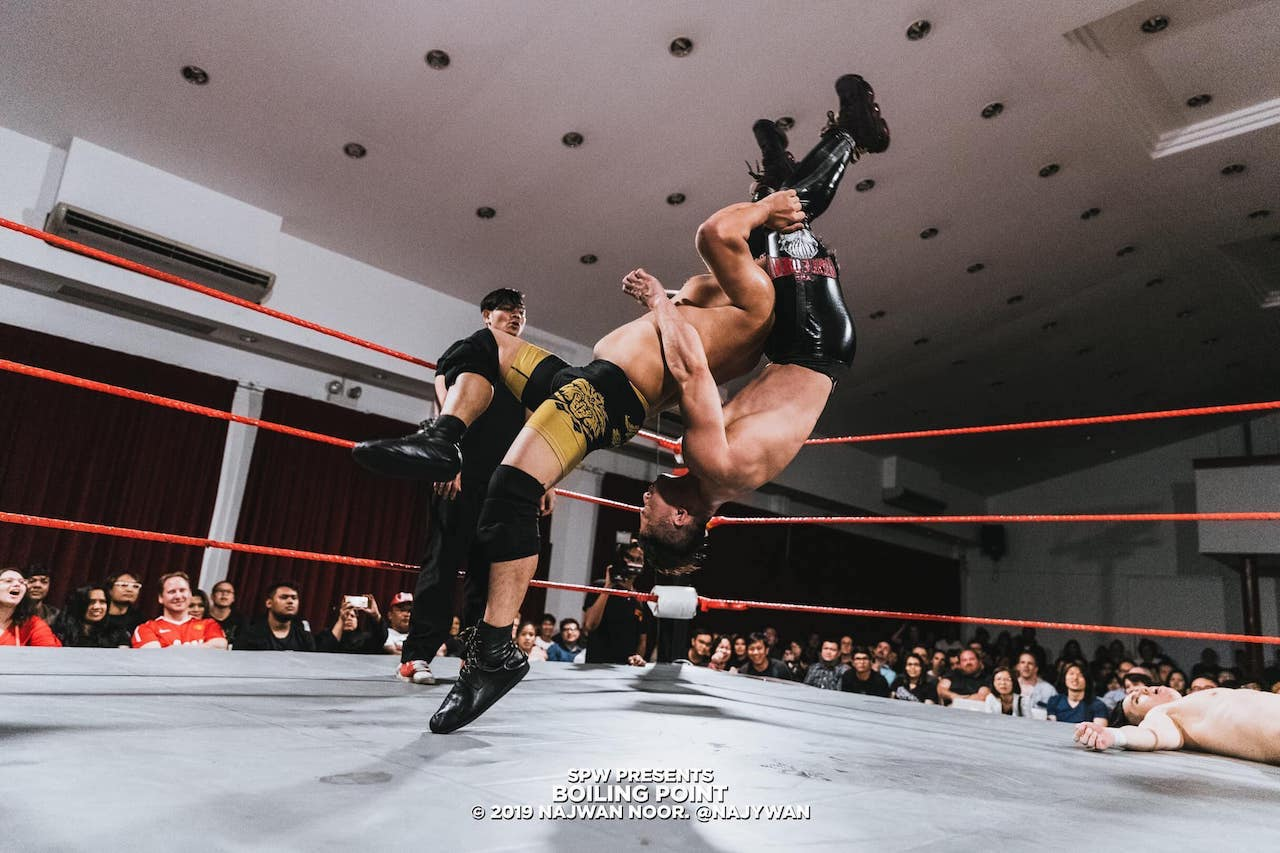 Singaporean Pro Wrestling: From WTF to OMG