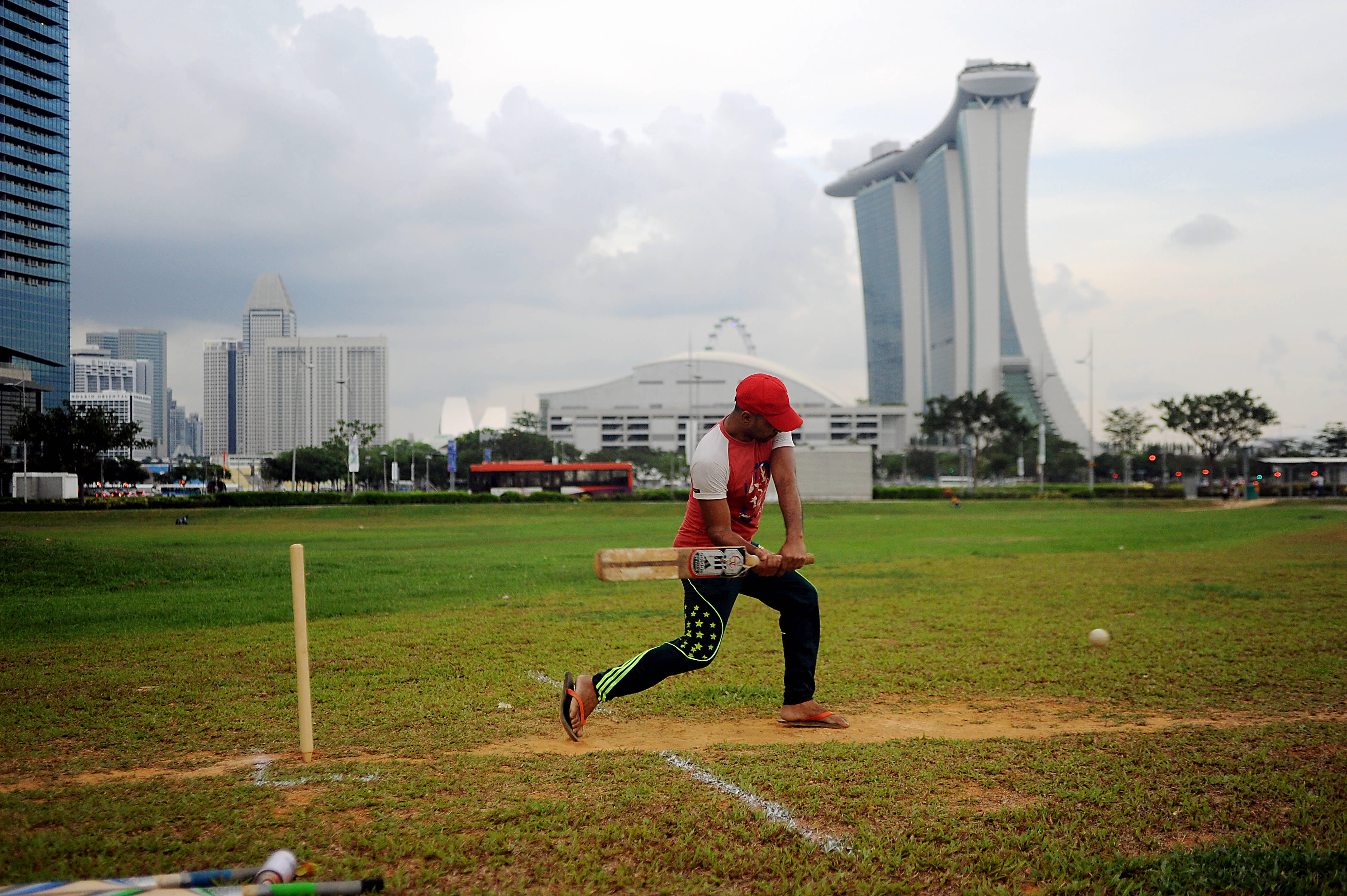 We Crashed A Foreign Workers' Cricket Game. Here's What Happened