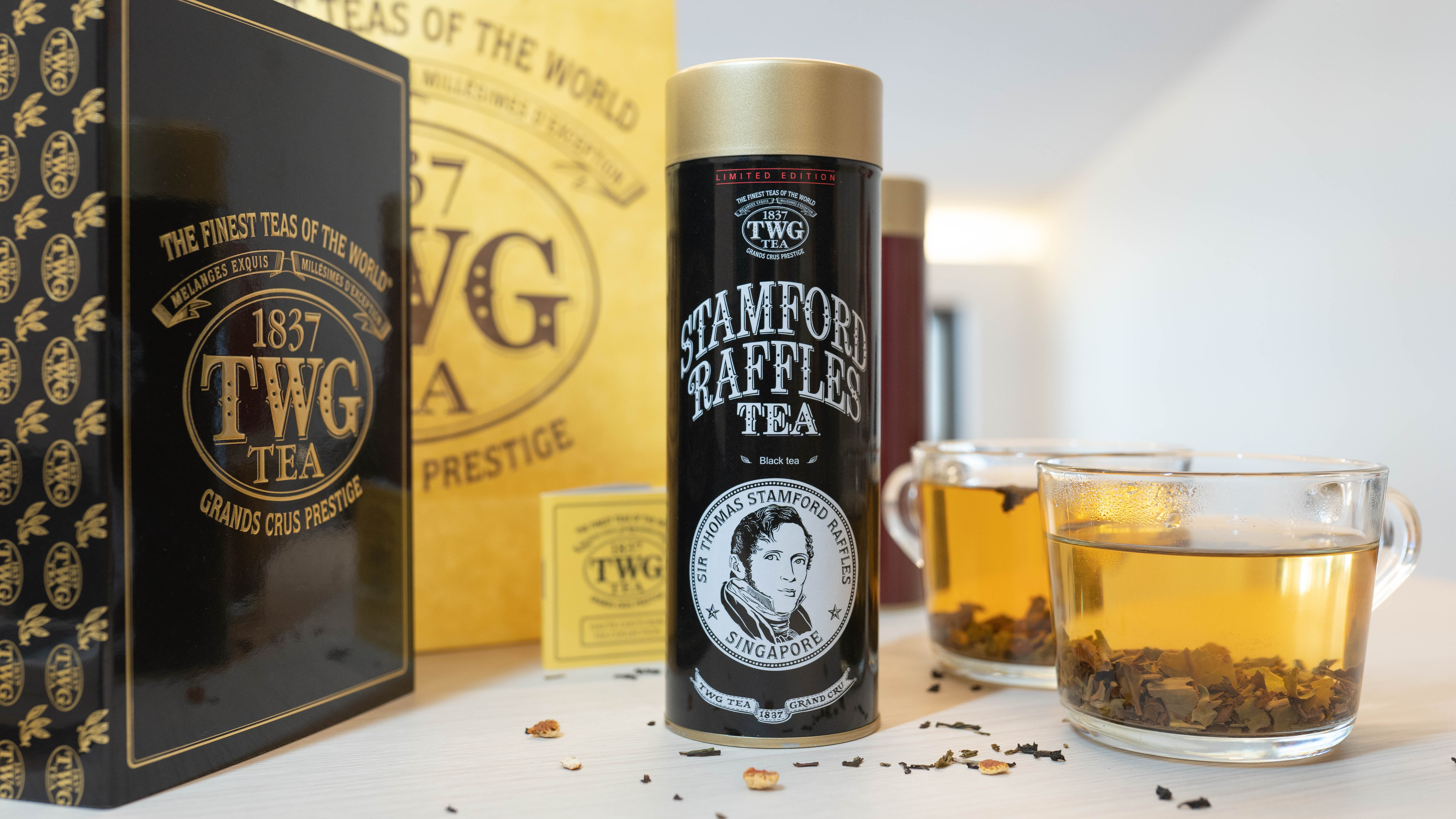 What If Sir Stamford Raffles Was a Tea? Now, You Can Taste It For $40