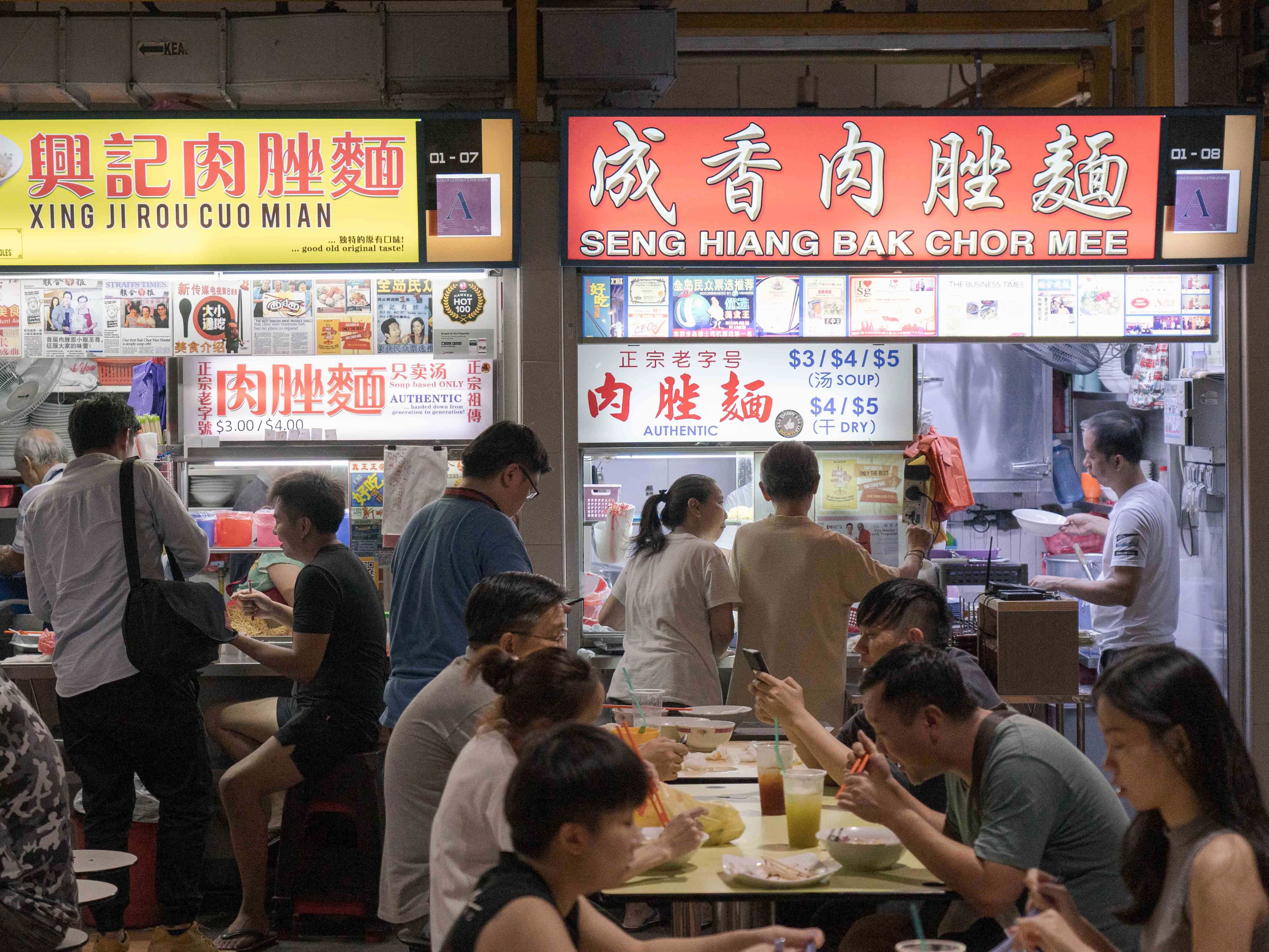 We Love Diversity in Hawker Food. Why Can't We Do the Same for Society?