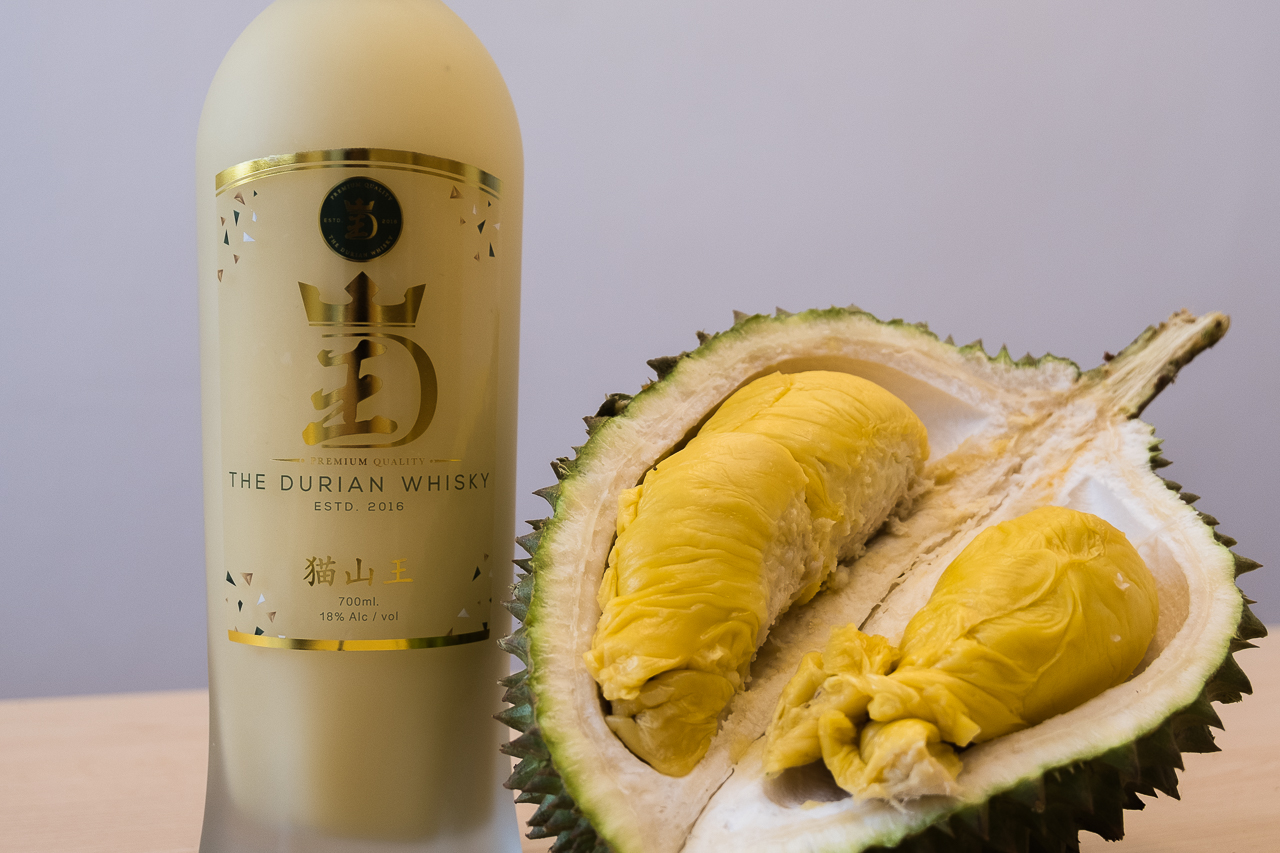 The Most Ambitious Crossover Event In Beverage History: Durian Whisky