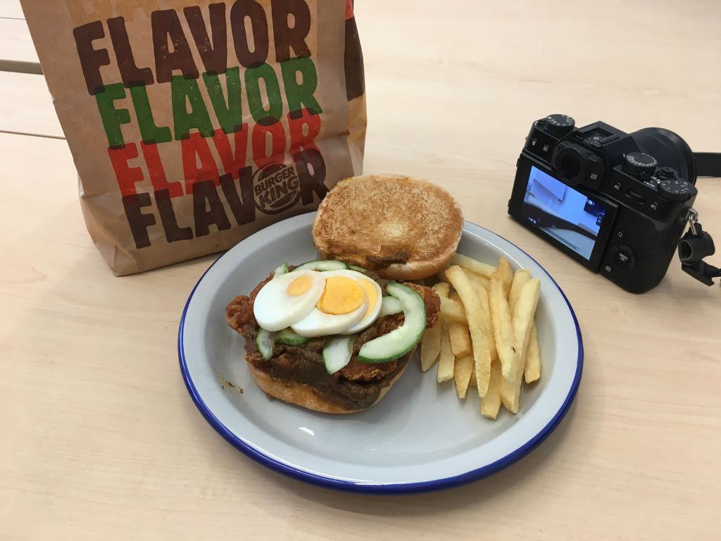 """Laksa Burger Review: """"Dear Burger King, We Love You But This Needs To Stop"""""""