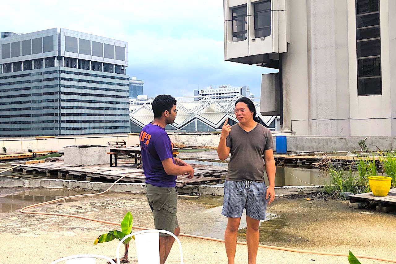 This Singaporean Wants to Build A Floating Private Island. But He's Starting With Urban Farming