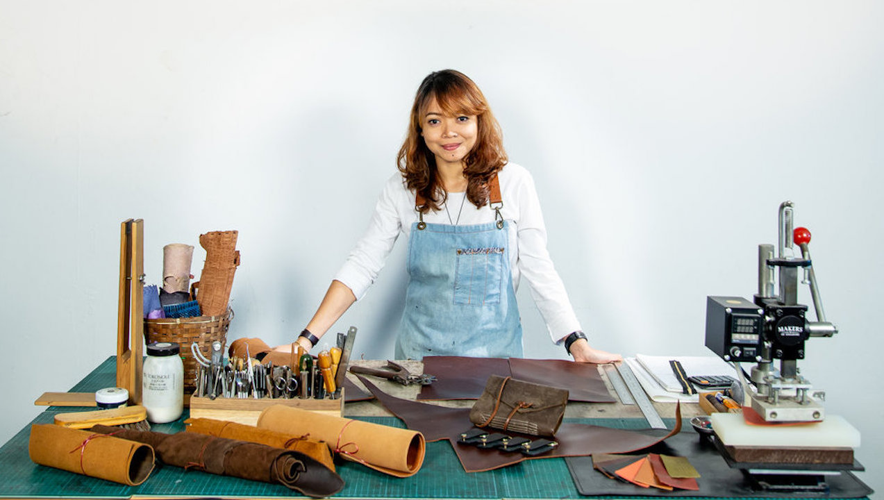 10 Questions with Addynna Azlinor, One of Singapore's Next Generation of Leather Artisans