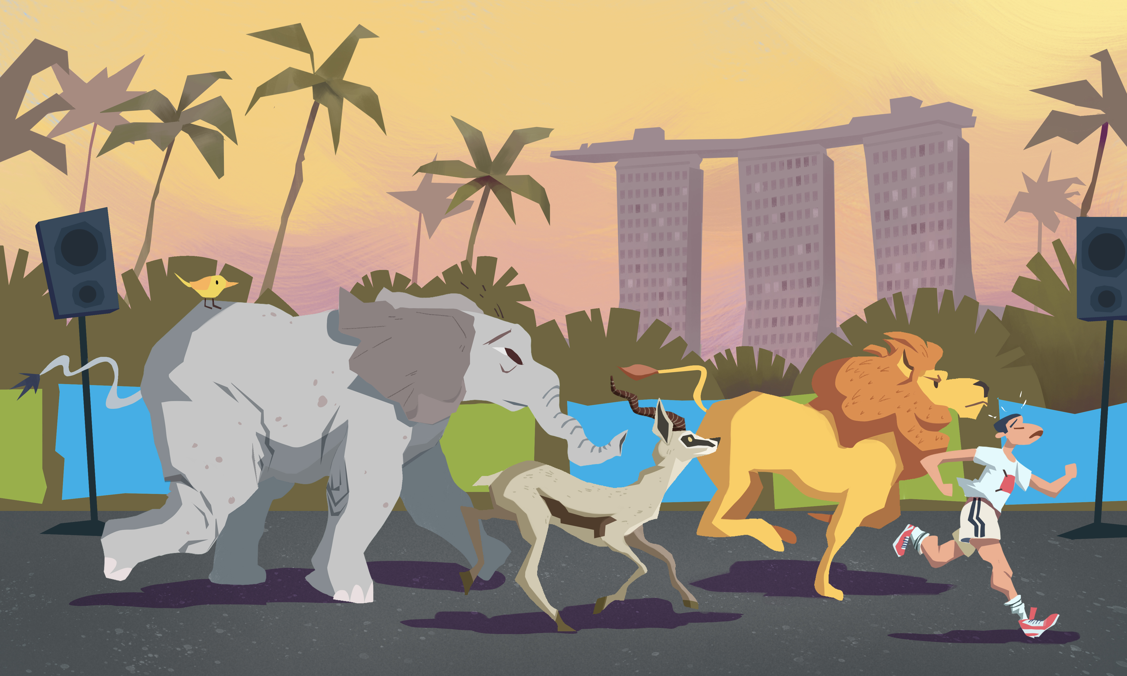 A Guide To The Majestic Wildlife Of The Standard Chartered Singapore Marathon