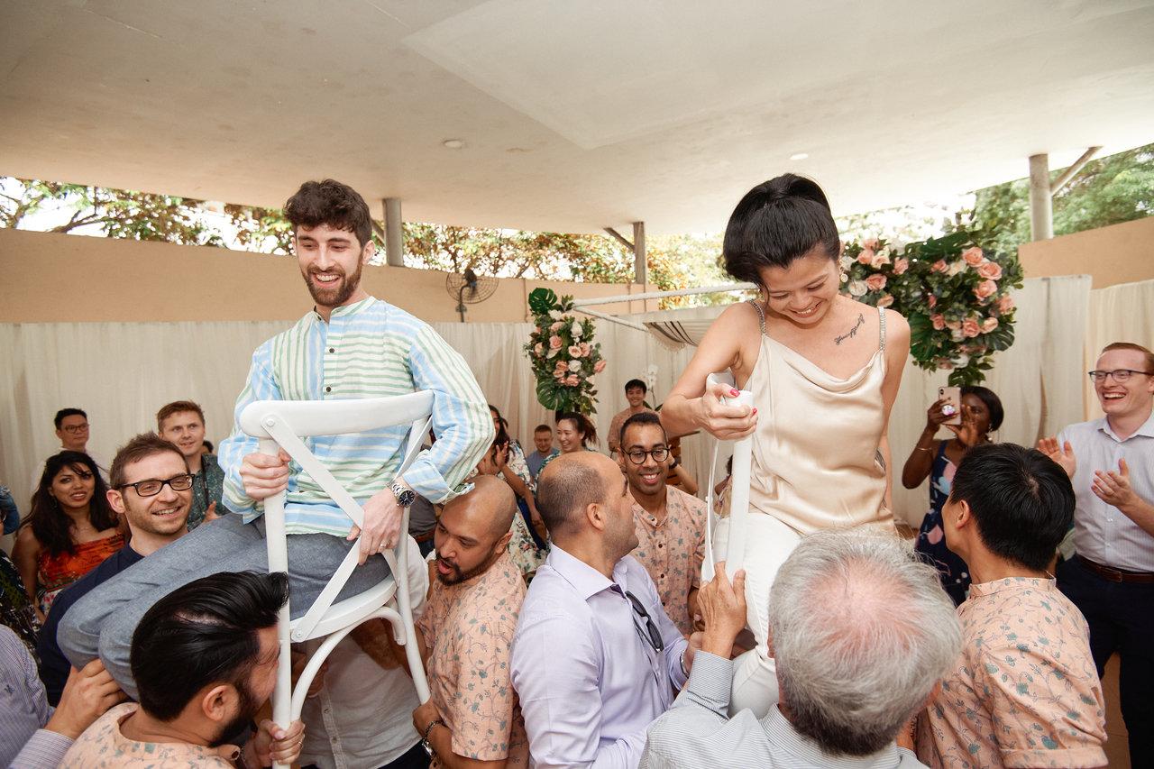 We Crashed An Epic, Multicultural, Jewish-Catholic-British-Chinese-Void Deck-Wedding
