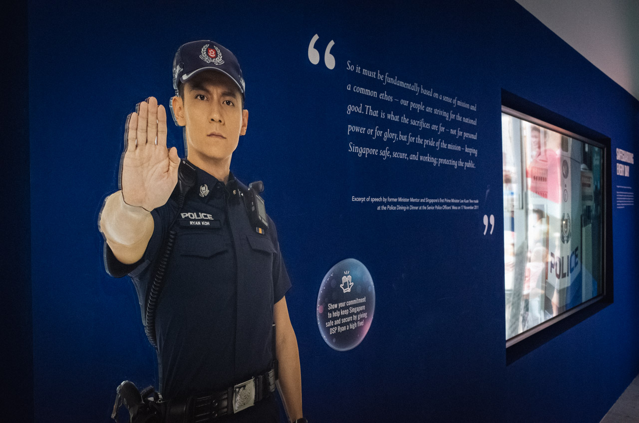 The National Museum's Police Bicentennial Exhibition Is A Crime Against History
