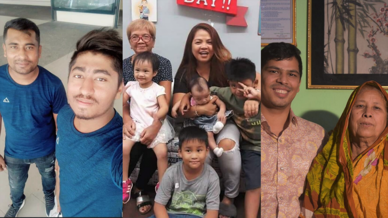 Migrant Workers Tell Us About Their Families, And Their Families Tell Us About Them