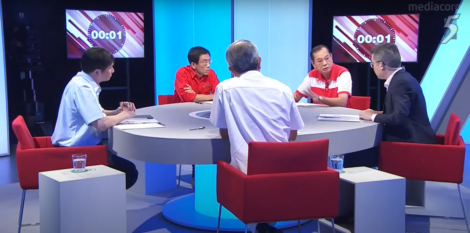 Singapore's First Political Debate: More Like An Office Meeting, But We'll Take It