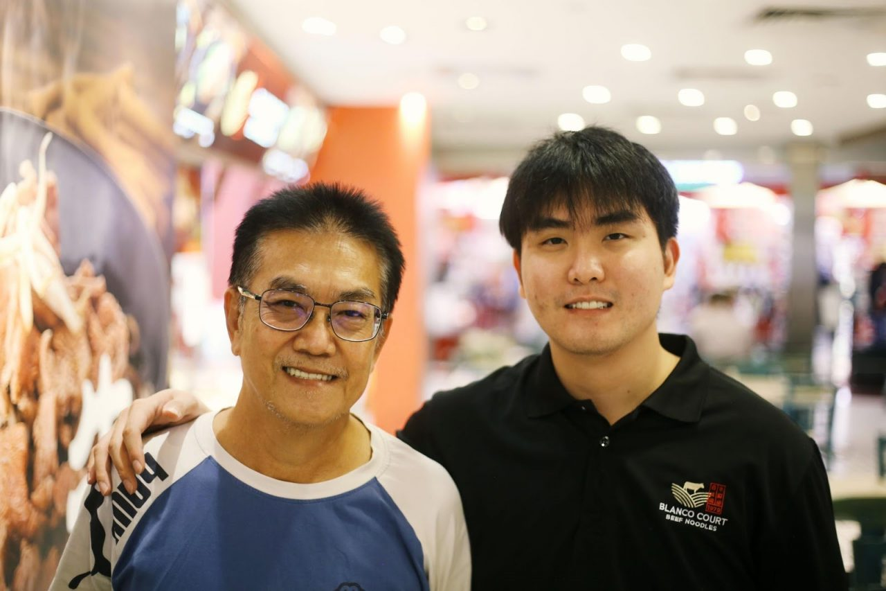 Mike and his Dad, Max Lo.